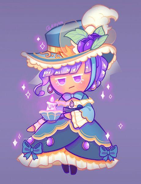 Tags: Anime, Didy414, Cookie Run: OvenBreak, Cookie Run, Blackberry Cookie, Blackberry Cookie (Elegant Respite), Twitter, Fanart