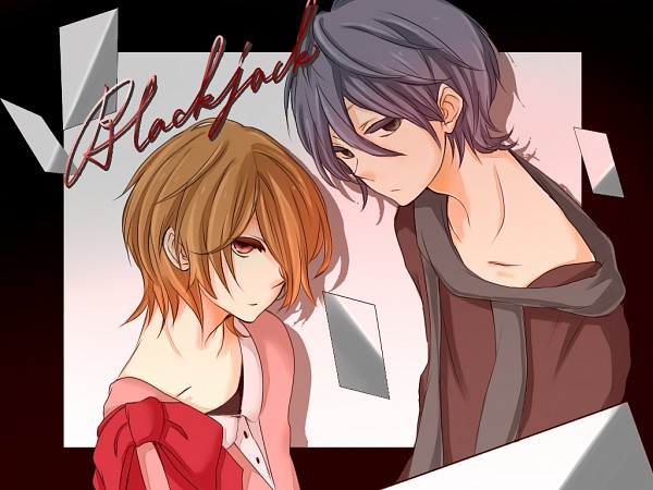 Tags: Anime, Pixiv Id 2667906, Lon, Soraru, Nico Nico Singer, Pixiv, Wallpaper, Blackjack