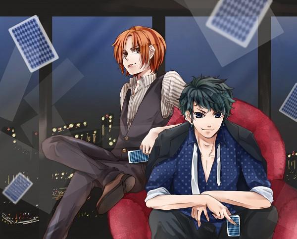 Tags: Anime, Pixiv Id 317290, amu, Shirokuro, Blackjack, Nico Nico Singer