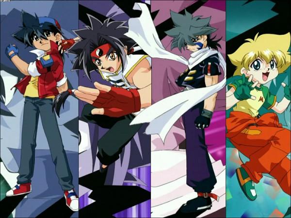 Tags: Anime, BEYBLADE, Hiwatari Kai, Mizuhara Max, Kon Rei, Kinomiya Takao, Artist Request, Bladebreakers