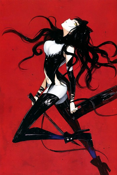 Tags: Anime, Igarashi Ran, RWBY, RWBY Volume 1 Official Japanese Fan Book, Blake Belladonna, Mobile Wallpaper, Comic Market, Scan, Comic Market 87
