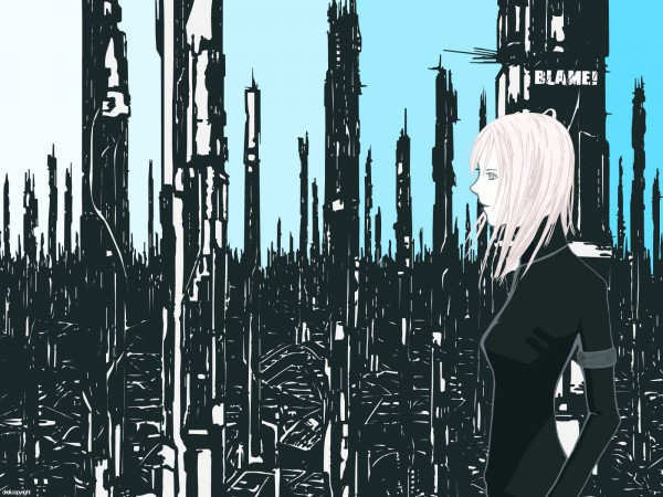 Tags: Anime, Blame!, Cibo, Wallpaper