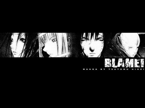 Tags: Anime, Nihei Tsutomu, Blame!, Killy, Cibo, Sanakan, Wallpaper