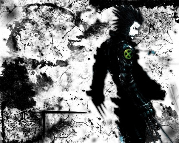 Tags: Anime, Nihei Tsutomu, Wolverine, X-Men, Blame! And So On, Wolverine (Character), Fanart, Marvel, Wallpaper