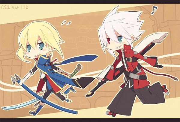 Tags: Anime, Ryolove, BlazBlue, Ragna the Bloodedge, Kisaragi Jin, Pixiv, Fanart From Pixiv, Fanart