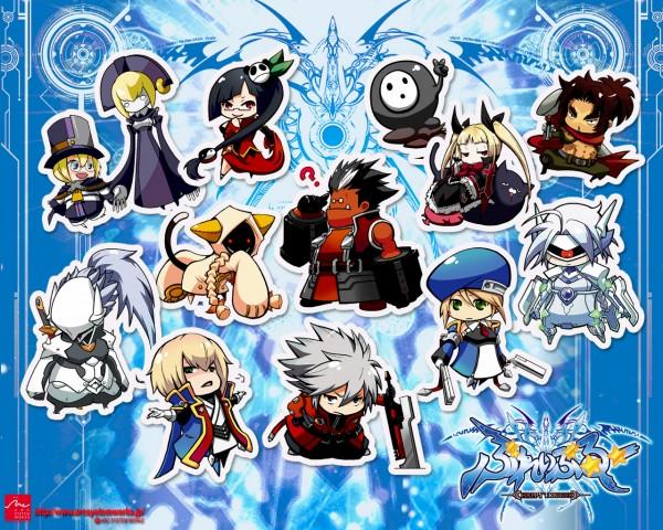 Tags: Anime, Mori Toshimichi, Arc System Works, BlazBlue, Rachel Alucard, Iron Tager, Noel Vermillion, Arakune (BlazBlue), Taokaka, Shishigami Bang, Nago, Ragna the Bloodedge, Nirvana