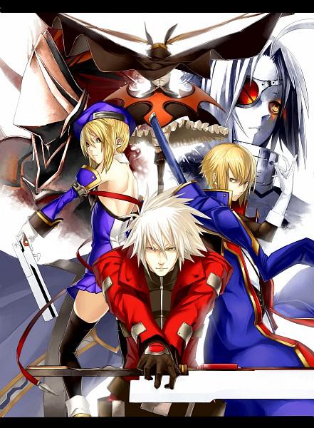 Tags: Anime, Pixiv Id 8766, BlazBlue, Ragna the Bloodedge, Kisaragi Jin, Hakumen, Noel Vermillion, Nu-13, Rachel Alucard, Fanart, Pixiv