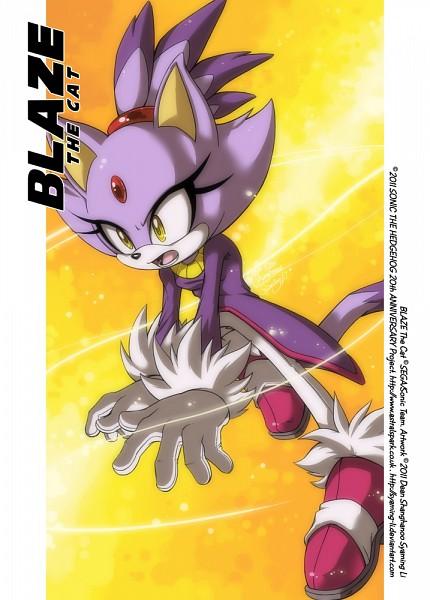 Blaze the Cat - Sonic Rush Adventure