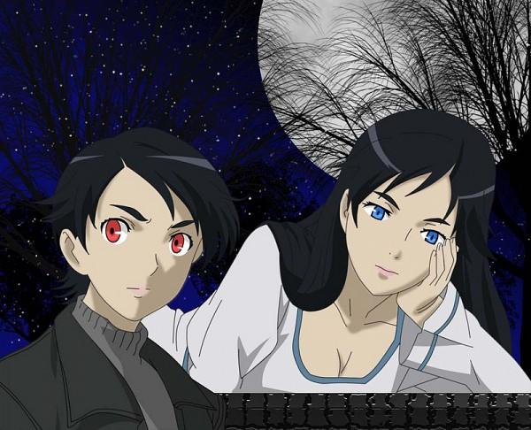 Tags: Anime, Ishii Akiharu, Production I.G., Blood+, Vector, Official Art