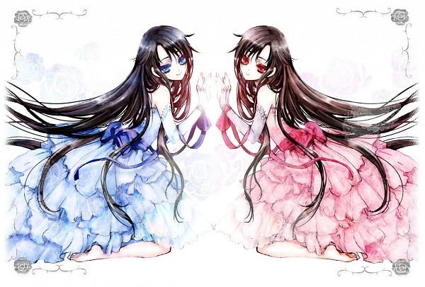Tags: Anime, Haiyoru, Blood+, Otonashi Saya, Diva, Pixiv