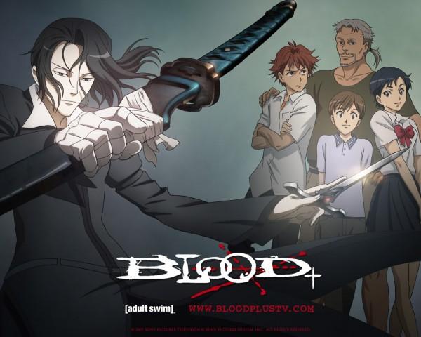 Tags: Anime, Ishii Akiharu, Production I.G., Blood+, Otonashi Saya, Haji, Miyagusuku Riku, Kai Miyagusuku, George Miyagusuku, Kai Otonashi, Official Art, Wallpaper