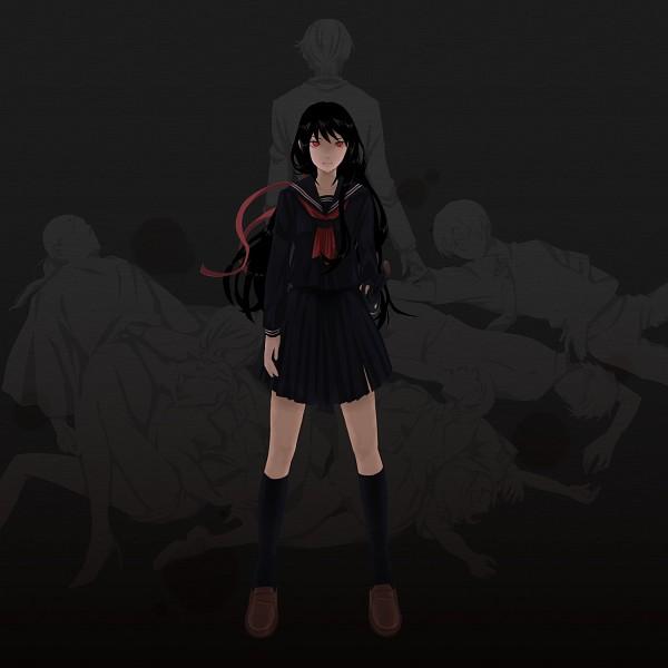 Tags: Anime, Pixiv Id 4296374, Blood-C, Motoe Nene, Motoe Nono, Nanahara Fumito, Kisaragi Tadayoshi, Tokizane Shinichirou, Kisaragi Saya, Tomofusa Itsuki