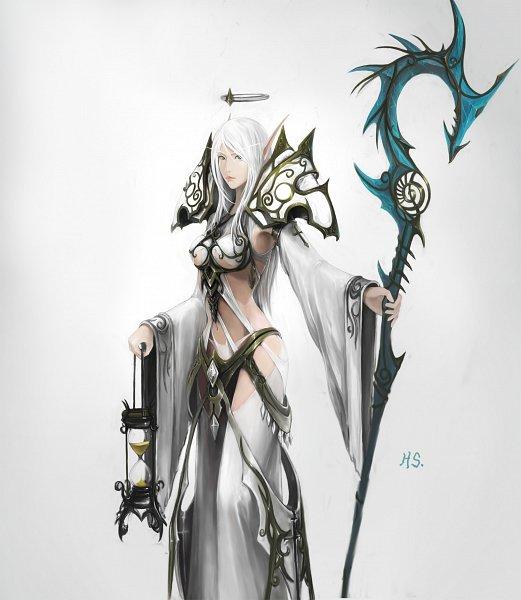 Tags: Anime, Warcraft, Priest (Warcraft), Blood Elf, Fanart, Artist Request
