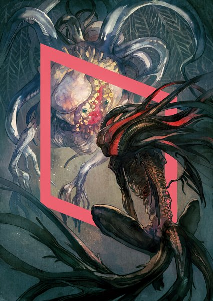 Tags: Anime, Bloodborne, Moon Presence, Ebrietas Daughter of the Cosmos