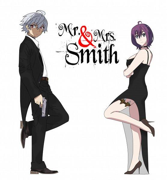 Tags: Anime, Bloodivores, Mr. & Mrs. Smith, Mi Liu, Zou Anji