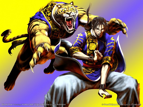 Tags: Anime, Bloody Roar, Long The Tiger, Official Wallpaper, Wallpaper, Official Art