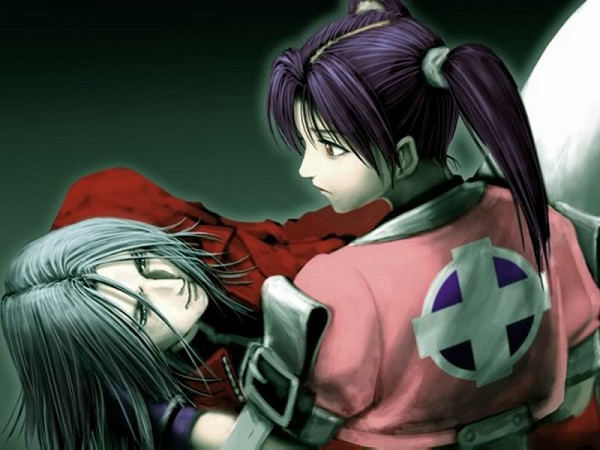 Tags: Anime, Bloody Roar, Xion The Unborn, Alice The Rabbit, Red Coat, Punk, Official Art