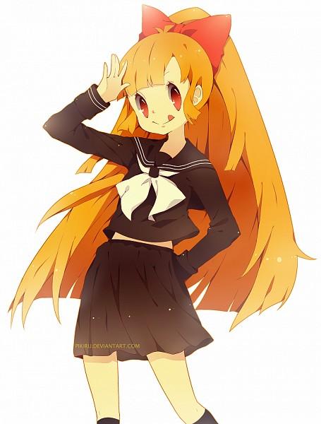 Tags: Anime, Pikiru, Power Puff Girls, Blossom (PPG), Pixiv, Fanart, deviantART
