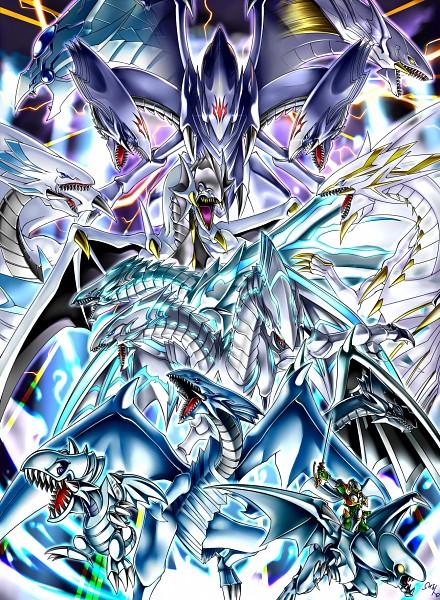 Tags: Anime, Pixiv Id 1380126, Yu-Gi-Oh! Duel Monsters, Yu-Gi-Oh!, Malefic Blue-Eyes White Dragon, Blue-Eyes White Dragon, Blue-Eyes Alternative White Dragon, Blue-Eyes Twin Burst Dragon, Blue-Eyes Shining Dragon, Blue-Eyes Ultimate Dragon, Blue-Eyes Toon Dragon, Dragon Spirit of White, Blue-Eyes Spirit Dragon