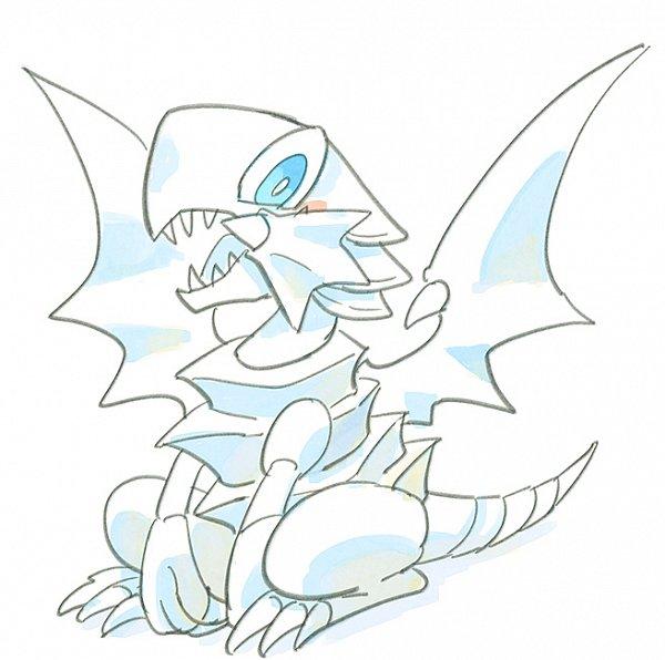 Blue-Eyes Toon Dragon - Blue-Eyes White Dragon