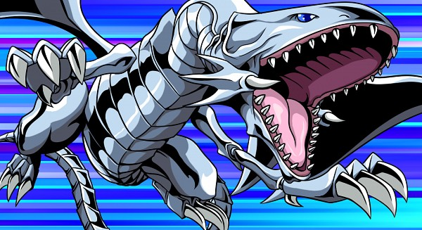Tags: Anime, Pixiv Id 3707322, Yu-Gi-Oh!, Yu-Gi-Oh! Duel Monsters, Blue-Eyes White Dragon, Roaring, Fanart From Pixiv, Pixiv, Fanart