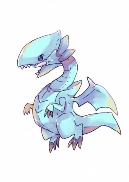 Tags: Anime, Pixiv Id 10842037, Yu-Gi-Oh!, Yu-Gi-Oh! Duel Monsters, Blue-Eyes White Dragon, Mini Dragon, Fanart, Fanart From Pixiv, Pixiv