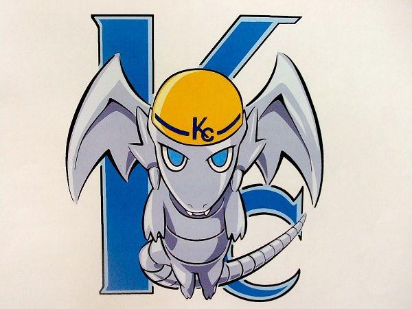 Tags: Anime, Takahiro Kagami, Yu-Gi-Oh! The Dark Side of Dimensions, Yu-Gi-Oh! Duel Monsters, Yu-Gi-Oh!, Blue-Eyes White Dragon, Mini Dragon, Official Art, Twitter