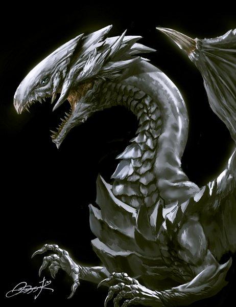 Tags: Anime, Pixiv Id 4130993, Yu-Gi-Oh!, Yu-Gi-Oh! Duel Monsters, Blue-Eyes White Dragon, Fanart, Fanart From Pixiv, Pixiv