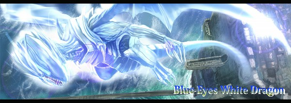 Tags: Anime, Yu-Gi-Oh! Duel Monsters, Yu-Gi-Oh!, Blue-Eyes White Dragon, Artist Request, Twitter Header