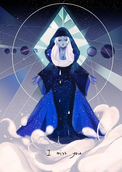 Tags: Anime, Pixiv Id 13305793, Steven Universe, Blue Diamond (Steven Universe), Sphere, Blue Cape, Blue Gem, Orb, Blue Lips, Pixiv, Fanart, Mobile Wallpaper, Fanart From Pixiv