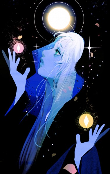 Tags: Anime, B 1028, Steven Universe, Blue Diamond (Steven Universe), Sphere, Orb, Mobile Wallpaper, Fanart, Twitter, PNG Conversion