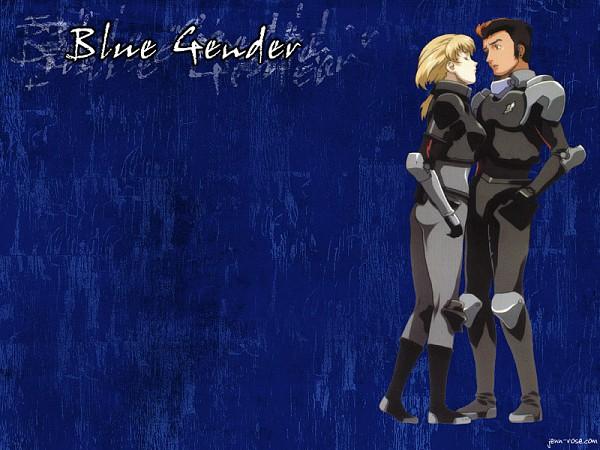Tags: Anime, Blue Gender, Yuuji Kaidou, Marlene Angel
