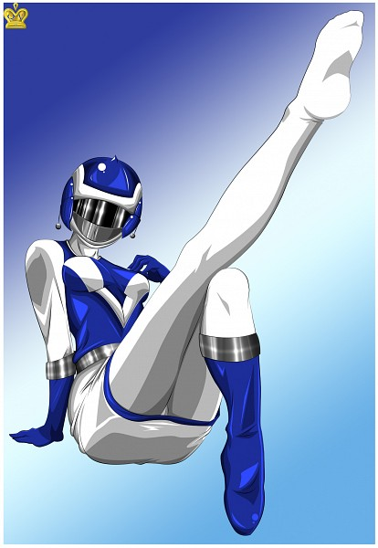 Tags: Anime, Queen-vegeta69, Power Rangers, Blue Ranger, Choujuu Sentai Liveman