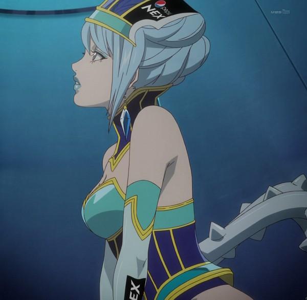 Tags: Anime, TIGER & BUNNY, Blue Rose (T&B), Karina Lyle, Screenshot