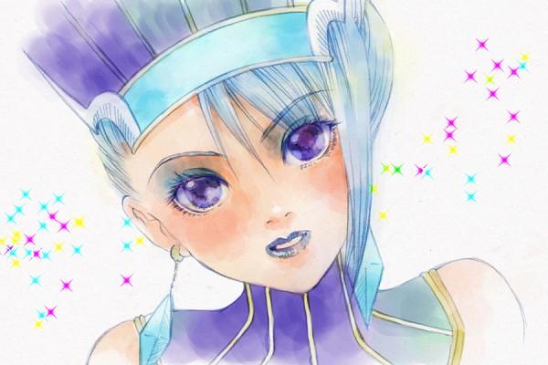 Tags: Anime, Pixiv Id 1126451, TIGER & BUNNY, Karina Lyle, Blue Rose (T&B), Pixiv