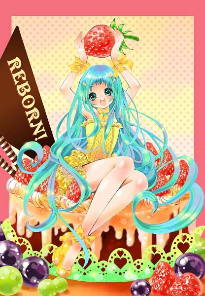 Tags: Anime, Koiwai, Katekyo Hitman REBORN!, Bluebell, Mobile Wallpaper