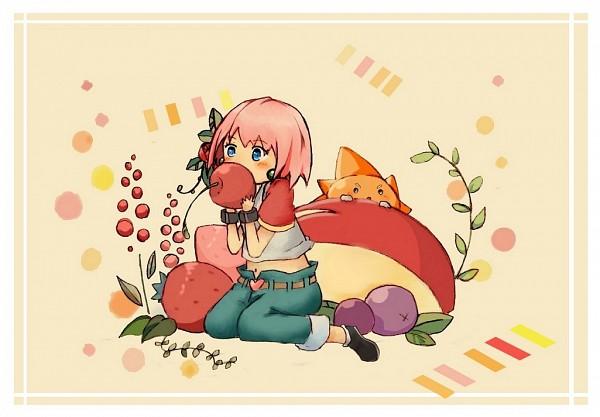 Tags: Anime, Pixiv Id 3124221, Bobobo-bo Bo-bobo, Beauty (Bobobo-bo Bo-bobo), Don Patch, Blueberry