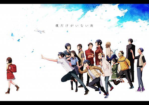 Tags: Anime, Pixiv Id 3067350, Boku dake ga Inai Machi, Hinazuki Kayo, Sugita Hiromi, Shiratori Jun, Osamu (Boku dake ga Inai Machi), Katagiri Airi, Takahashi (Boku dake ga Inai Machi), Kazu (Boku dake ga Inai Machi), Fujinuma Sachiko, Hinazuki Akemi, Kobayashi Kenya, Erased