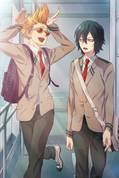 Tags: Anime, Pixiv Id 15720559, Boku no Hero Academia, Present Mic, Aizawa Shouta, Mobile Wallpaper, Fanart From Pixiv, Pixiv, Fanart, My Hero Academia