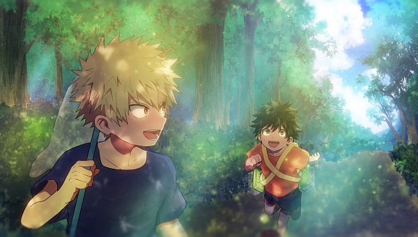 Tags: Anime, Pixiv Id 7099916, Boku no Hero Academia, Bakugou Katsuki, Midoriya Izuku, Facebook Cover, Fanart From Pixiv, Pixiv, Fanart, My Hero Academia