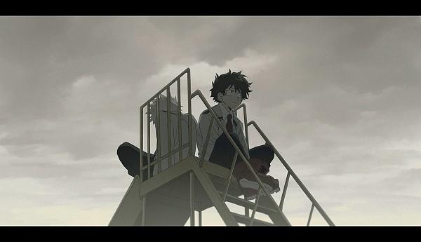 Tags: Anime, Abaraya, Boku no Hero Academia, Bakugou Katsuki, Midoriya Izuku, Pixiv, Fanart, Fanart From Pixiv, PNG Conversion, My Hero Academia