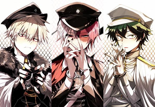 Tags: Anime, Pixiv Id 4657637, Boku no Hero Academia, Todoroki Shouto, Bakugou Katsuki, Midoriya Izuku, Fanart, Fanart From Pixiv, PNG Conversion, Pixiv, My Hero Academia