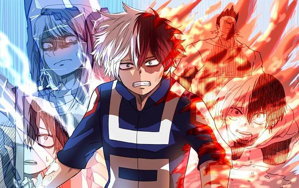 Tags: Anime, Ariadusts, Boku no Hero Academia, Todoroki Enji, Todoroki Shouto, Todoroki Rei, Revision, Self Made, My Hero Academia