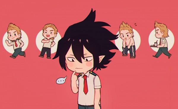 Tags: Anime, Pixiv Id 8126510, Boku no Hero Academia, Togata Mirio, Amajiki Tamaki, Fanart From Pixiv, Pixiv, Fanart, My Hero Academia
