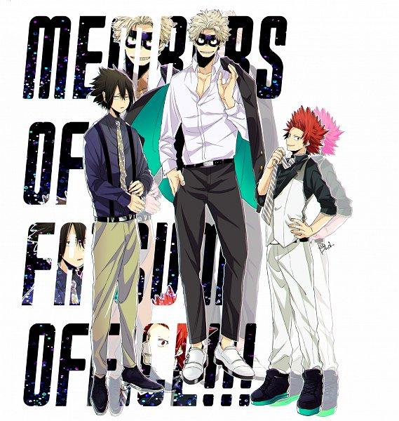 Tags: Anime, Dandel, Boku no Hero Academia, Kirishima Eijirou, Toyomitsu Taishiro, Amajiki Tamaki, My Hero Academia