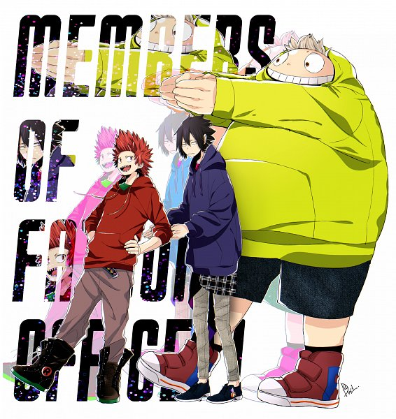 Tags: Anime, Dandel, Boku no Hero Academia, Toyomitsu Taishiro, Amajiki Tamaki, Kirishima Eijirou, My Hero Academia
