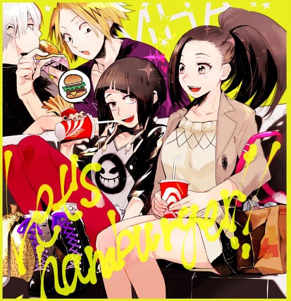 Tags: Anime, Noppo, Boku no Hero Academia, Kaminari Denki, Jirou Kyouka, Todoroki Shouto, Yaoyorozu Momo, Fanart From Pixiv, Pixiv, Fanart, My Hero Academia