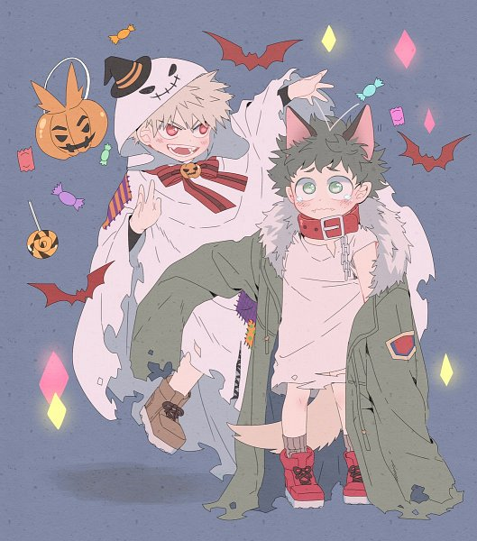 Tags: Anime, Mikan (Pixiv 603442), Boku no Hero Academia, Bakugou Katsuki, Midoriya Izuku, Midoriya Izuku (Cosplay), Bakugou Katsuki (Cosplay), KatsuDeku, My Hero Academia