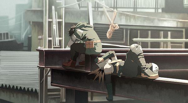 Tags: Anime, Abaraya, Boku no Hero Academia, Bakugou Katsuki, Midoriya Izuku, Fanart From Pixiv, Pixiv, Fanart, KatsuDeku, My Hero Academia