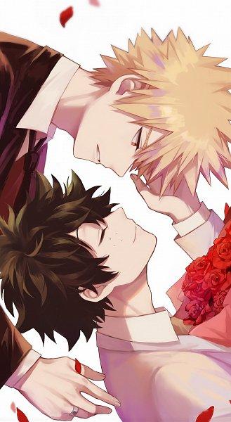 Tags: Anime, Liyuchen1126, Boku no Hero Academia, Bakugou Katsuki, Midoriya Izuku, Wedding Ring, Fanart From Pixiv, Pixiv, Fanart, KatsuDeku, My Hero Academia